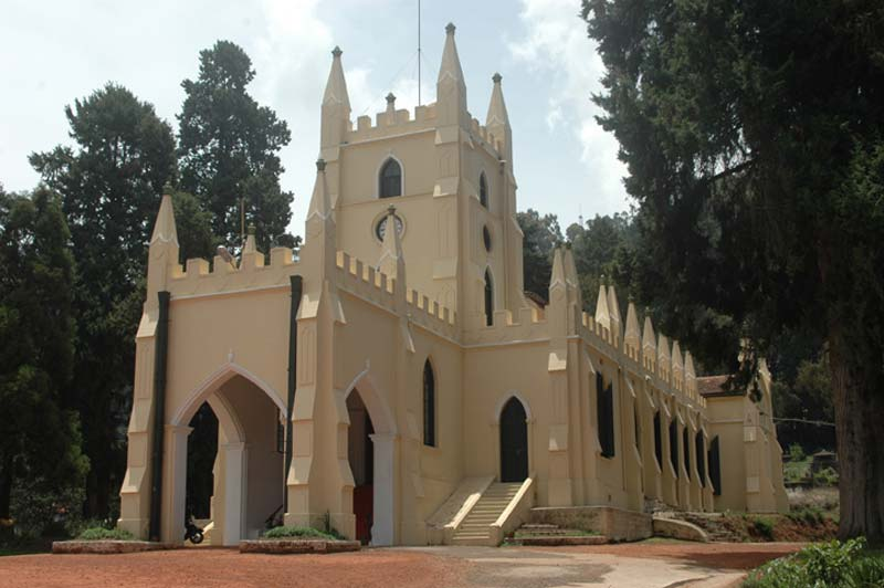 India church building