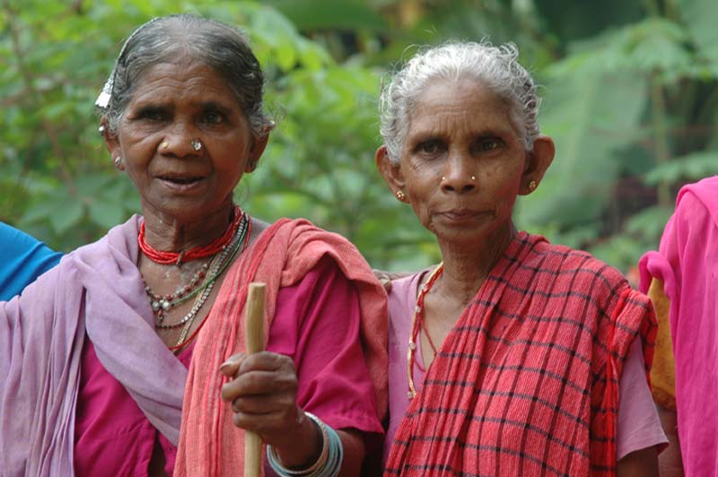 India two older women