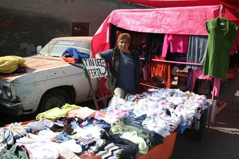 Mexico Clothing Vendor