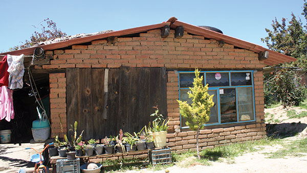 Mexico Small Brick Home