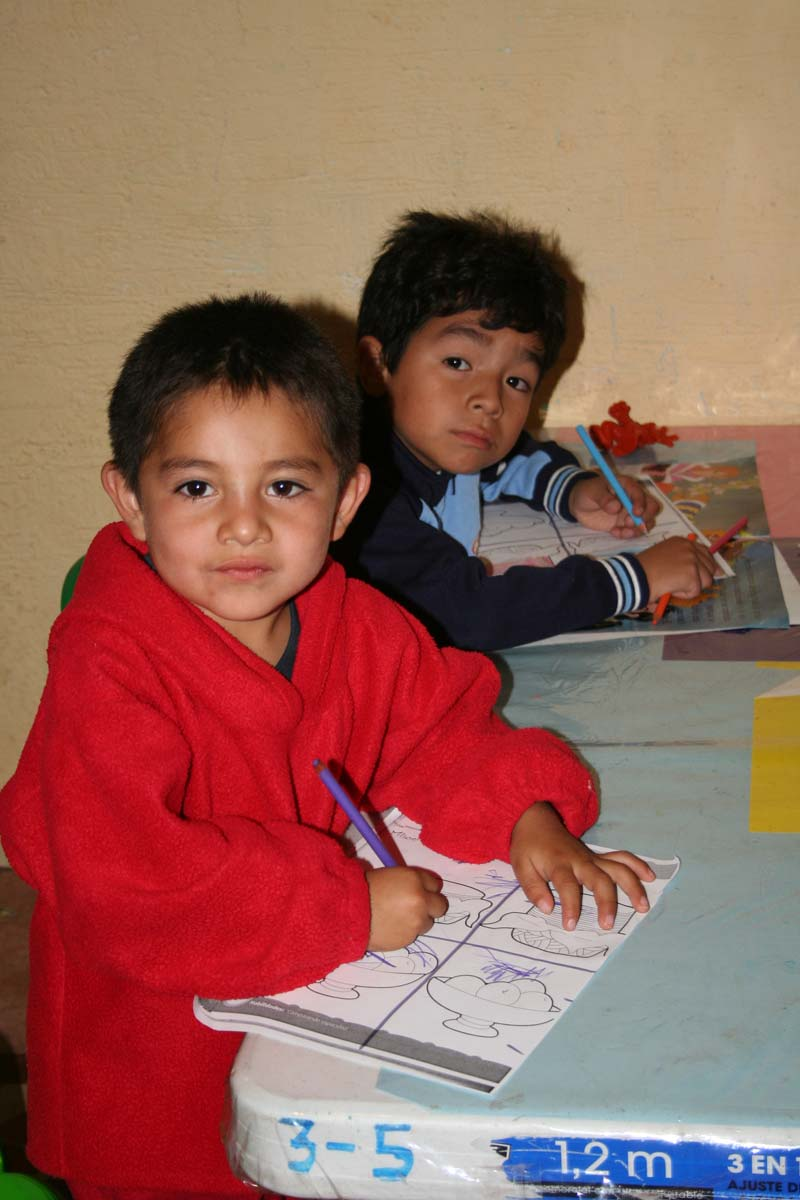 Mexico Two Boys Coloring