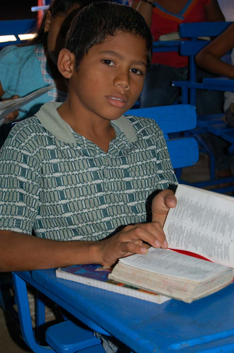 Nicaragua Boy With a Bible