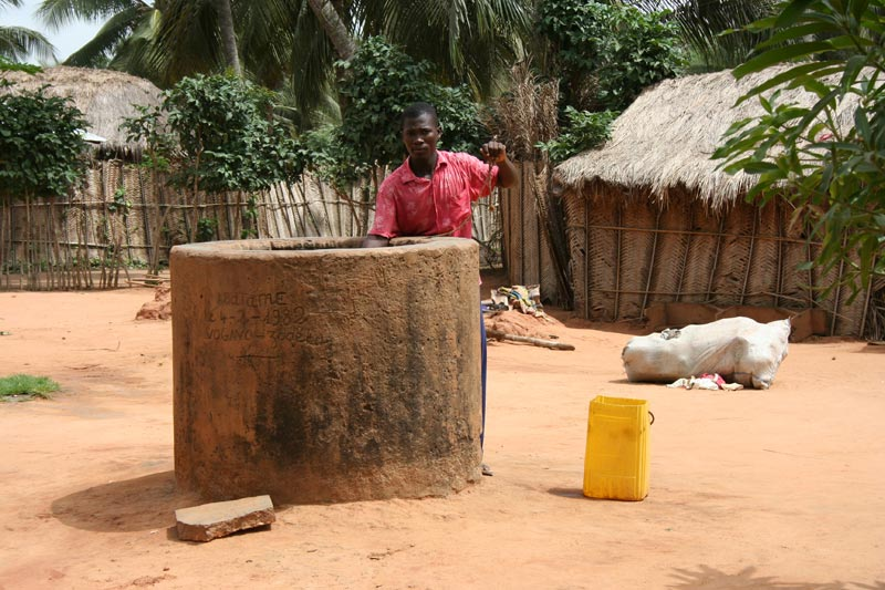 Togo Man at a Well