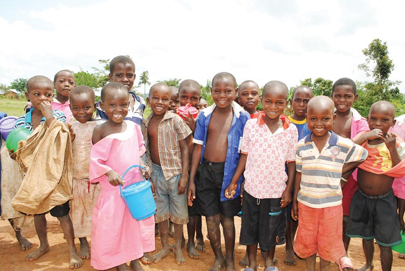 Uganda Smiling Children