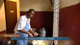 Bangladesh: Cooking with Milton