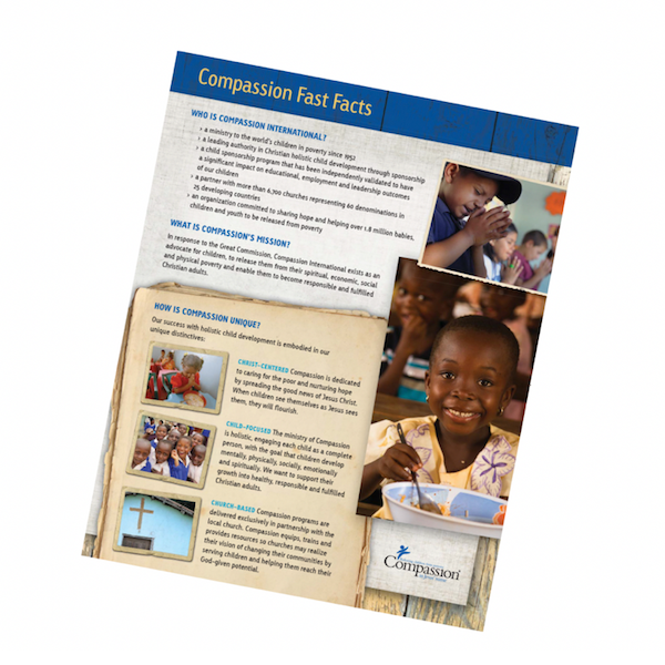 Compassion At-a-Glance brochure